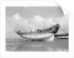 Side view probably of the 'Bedri' baggala, Kwale Island by Alan Villiers