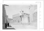 Street and mosque, Kuwait by Alan Villiers