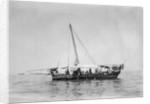 Kuwaiti pearling vessel by Alan Villiers