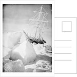 'Endurance' frozen in and forced out of the ice, during Ernest Shackleton's Imperial Trans-Antarctic Expedition of 1914-1917 by unknown