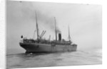 Passenger/cargo liner 'Gascon' (Br, 1897), Union-Castle Mail S.S. Co Ltd, under way by unknown