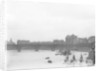 Looking west from London's Victoria Embankment, 1909 by unknown