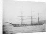 'Cathcart' (Br, 1869) at anchor by unknown