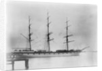 A three masted ship 'Loch Etive' (Br, 1877) at moorings, Melbourne by unknown