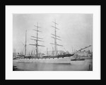 Three masted barque 'Scottish Wizard' (Br, 1881) by unknown