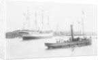 'Alexandre' (Fr, 1902) taking the water at her launch by unknown