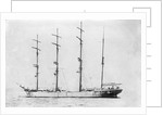 'Dundee' (Br, 1882) at anchor by unknown