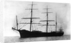 'Guiana' (Br, 1882) at anchor by unknown