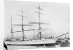 'Silverstream' (B, 1891) 3 masted barque, W P Herdman, Carrickfergus: at quayside by unknown
