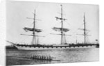 'Toxteth' (Br, 1887) at anchor by unknown