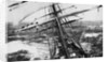 'Garthsnaid' (Br, 1892), looking aft from the bowsprit by Turner