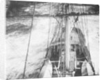 'Port Jackson' 4 masted barque, looking down on poop from aloft in the mainmast by unknown