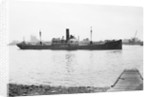 The 'Lesto' (1918) on Charlton Buoys, River Thames by unknown