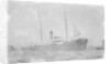 General cargo ship 'Tak Sang' (Br, 1892) Indo-China S.N. Co Ltd, at anchor by unknown