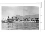 SS 'Welcombe' (Br, 1930) at quayside, Cape Town by unknown