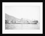 General cargo ship 'Yuen Sang' (Br, 1923)  at moorings by unknown