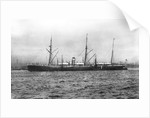 Sarmatian' (Br, 1871) passenger/cargo liner J & A Allan (Allan Line) by unknown
