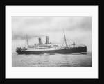 'Transylvania' (Br, 1914) under way, passenger liner, Anchor Line (Henderson Bros) Ltd by unknown