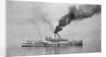 The 'Karapara' (Br, 1915) under way as hospital ship No. 36 by unknown