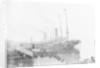 'Lake Champlain' (Br, 1900), at quayside, Liverpool landing stage by unknown