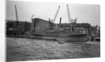 The 'Leeuwarden' (Br, 1929) at Brewers Quay, Upper Pool, River Thames by unknown