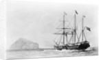 Passenger liner 'Bentinck' (1843) entering Aden by Huggins by Huggins