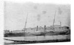 'Delta' (Br, 1859) at quayside by unknown