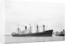 'Good Hope Castle' (Br, 1945), off entrance to the Royal Dock locks, River Thames by unknown