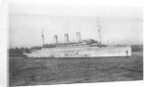 'Justicia' (1917) at anchor by unknown