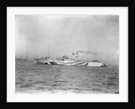 Port side view just forward of the broadside of Train Ferry No. 1 (1917) by unknown