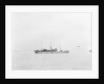 'Accrington' (1910) at anchor as a convoy rescue ship, distant by unknown