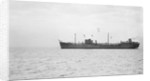 Photograph of the tanker 'Athelvictor' (1941) at anchor by unknown