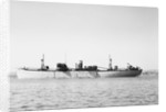 'Fort la Traite' (Br, 1942) at anchor by unknown