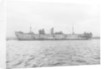 Photograph of general cargo vessel Nailsea Moor (1937) at moorings in 1943 by unknown