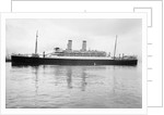 Photograph of 'Oronsay' (1925) at quayside, Tilbury on 24th January 1925 by unknown