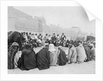 Mubarak Al-Sabah (Sheikh of Kuwait from 1896-1915) holding an outside audience in Kuwait by unknown