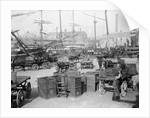 Portsmouth dockyard by unknown