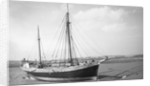 'Garlandstone' auxilary ketch, dried out at Braunton Pill by unknown