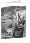 'Marion' Polperro gaffer, in Polperro harbour by unknown