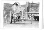 Table tennis aboard the 'Orion' by Marine Photo Service