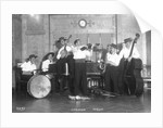 Ships band aboard the 'Oronsay' by Marine Photo Service