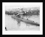 German submarine U-14 at Lisbon, Portugal, July-September 1937 by unknown