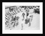 Dog Racing aboard the 'Viceroy of India' by Marine Photo Service