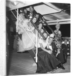 Cocktail party aboard the 'Chusan' by Marine Photo Service
