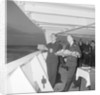Committing ashes to the deep on the 'Empress of England' by Marine Photo Service