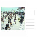 Local dancers from Roratonga, Cook Islands performing aboard the 'Kungsholm' by Marine Photo Service