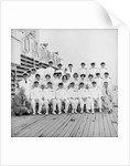 Officers of the 'Oronsay', 1961 by Marine Photo Service