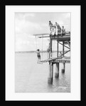 Passengers on a jetty in Barbados, Lesser Antilles by Marine Photo Service
