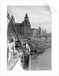 The Royal Liver Building at Liverpool, England by Marine Photo Service