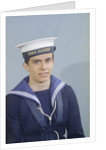 Portrait of Kevan Ward, HMS Ganges, 13th April 1975 by Reginald Arthur Fisk